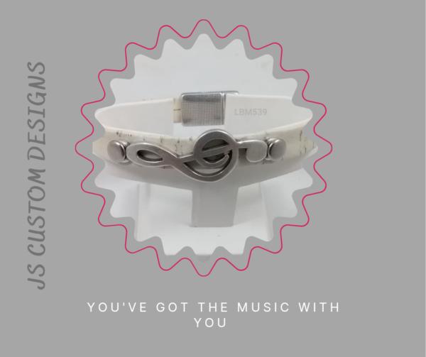 Shop North Dakota Musical Note Cork Bracelet