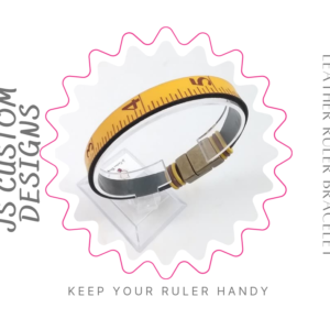 Shop North Dakota Ruler Leather Bracelet