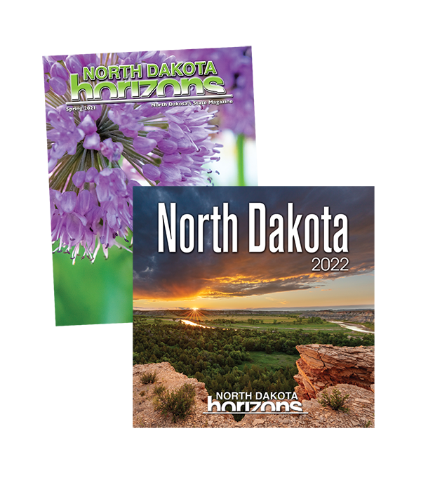 Shop North Dakota North Dakota Horizons Magazine Subscription/Calendar Combo
