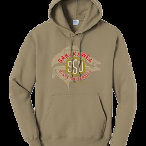 Shop North Dakota Sakakawea State University Hoodie -Solid Color