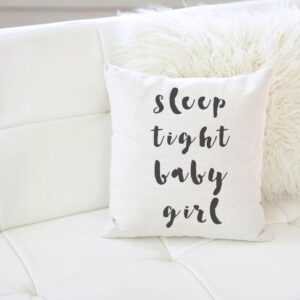 Shop North Dakota Sleep Tight Baby Girl Pillow