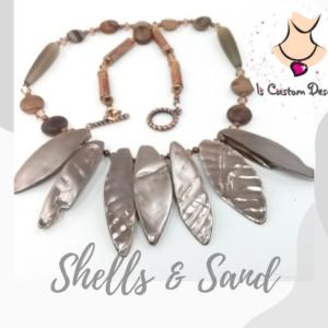 Shop North Dakota Shells and Sand Necklace
