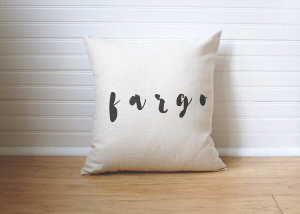 Shop North Dakota City Pillow – Fargo