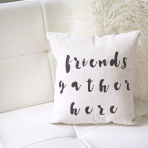 Shop North Dakota Friends Gather Here Pillow