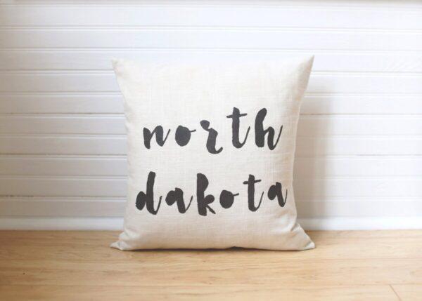 Shop North Dakota State Pillow – North Dakota