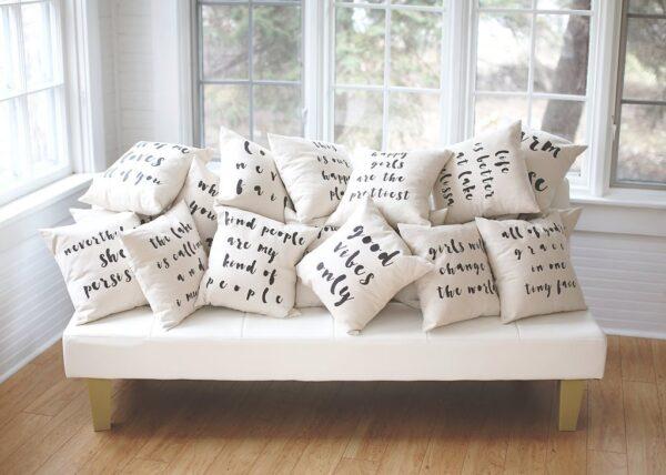 Shop North Dakota Enjoy Your Stay Pillow