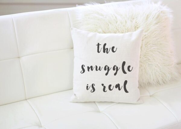 Shop North Dakota The Snuggle is Real Pillow