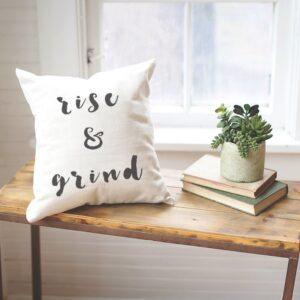 Shop North Dakota Rise & Grind Pillow