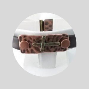 Shop North Dakota Rugged Cross Bracelet