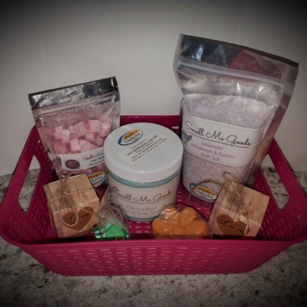 Shop North Dakota Pink Gift Basket – Value $41