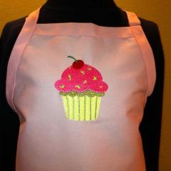 Shop North Dakota Cupcake Design Apron