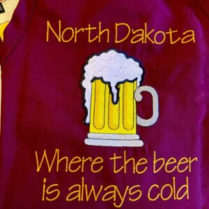 Shop North Dakota North Dakota Apron-Where the Beer is always Cold