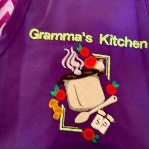 Shop North Dakota Gramma's Kitchen Soup Design Apron