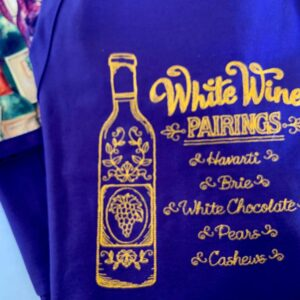 Shop North Dakota White Wine Pairings Apron
