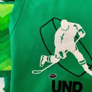 Shop North Dakota UND Hockey Player Apron