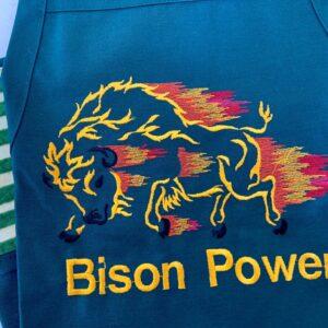 Shop North Dakota Bison Power NDSU Apron