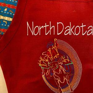 Shop North Dakota North Dakota Rodeo Design Apron