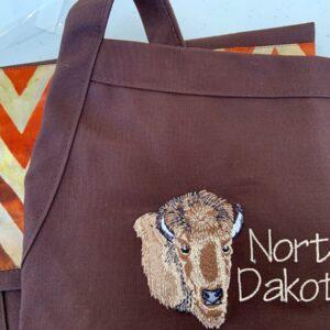 Shop North Dakota North Dakota Buffalo Design Apron