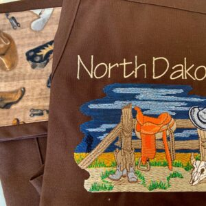 Shop North Dakota North Dakota Cowboy Apron