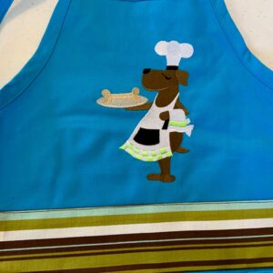 Shop North Dakota Dog Chef Child Apron