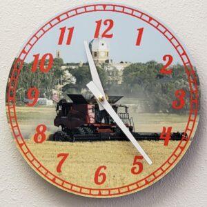 Shop North Dakota Customized 8 inch Wall Clock