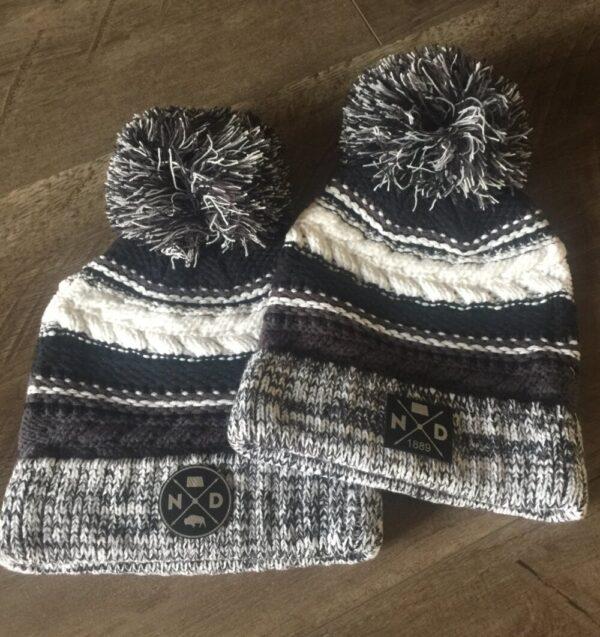 Shop North Dakota North Dakota Knit Pom Beanie Cap