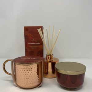 Shop North Dakota Thymes Simmered Cider Candles and Diffuser