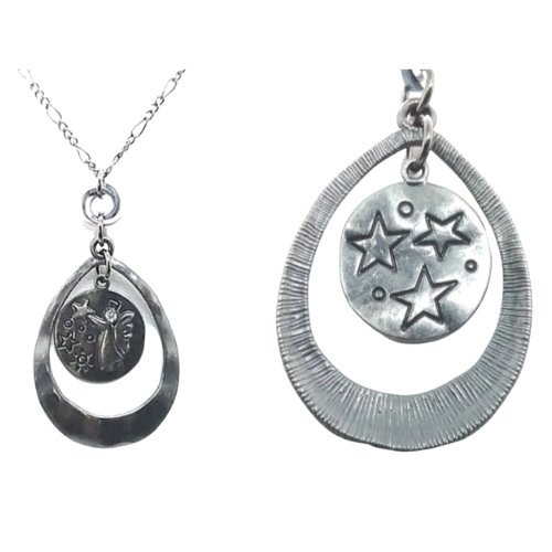 Shop North Dakota Angels Among the Stars Necklace