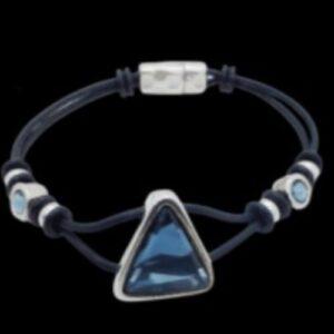 Shop North Dakota Caribbean Blue Swarovski Crystal Bracelet