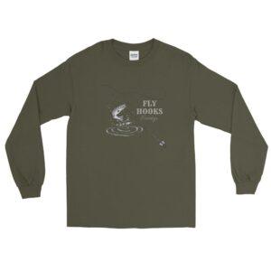 Shop North Dakota Fly Hooks Eventyr Long-Sleeve Shirt