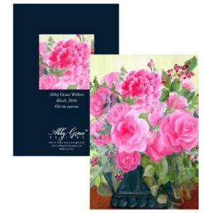 Shop North Dakota Blush Greeting Card