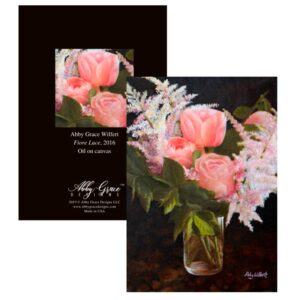 Shop North Dakota Fiore Luce Greeting Card
