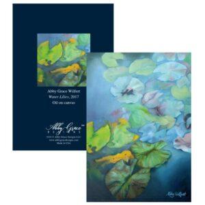 Shop North Dakota Water Lilies Greeting Card