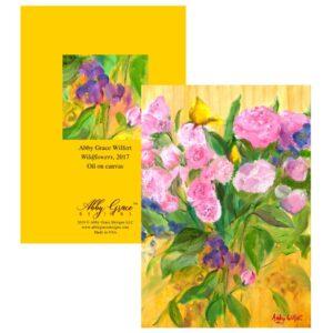 Shop North Dakota Wildflowers Greeting Card