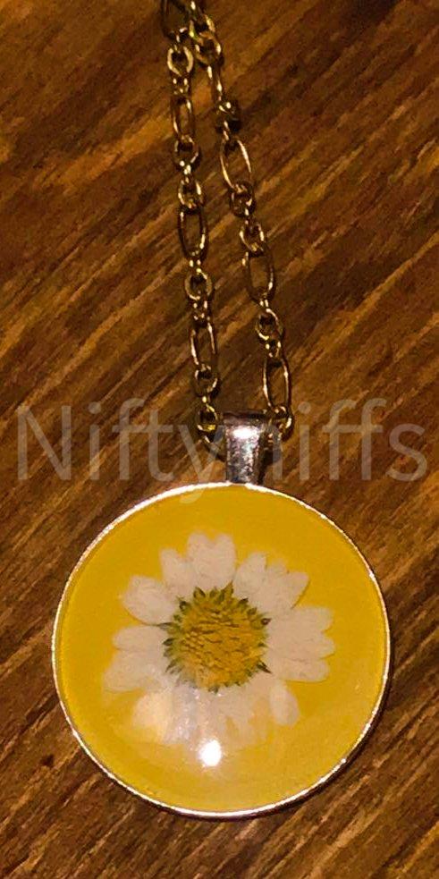 Shop North Dakota Sunny Flower Necklace